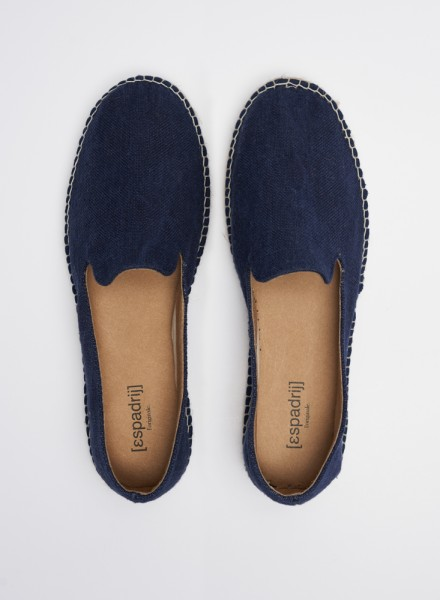 LOAFER LINEN : marine