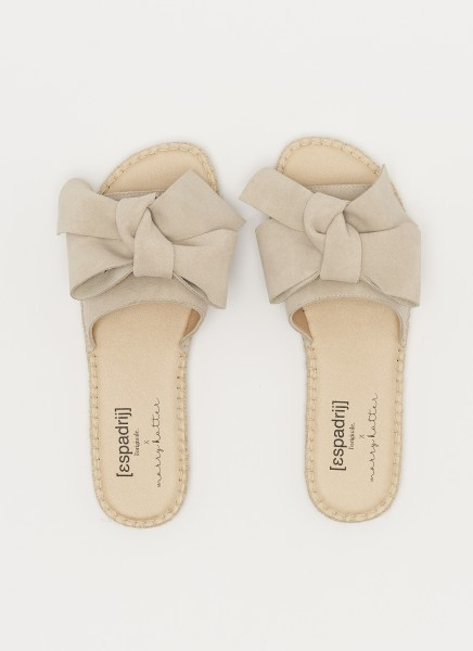 PLAGE BOW MARRY : beige