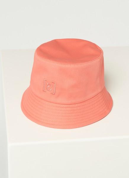 BUCKET HAT : coral