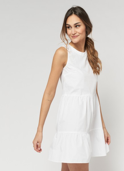 BERNA DRESS : weiß