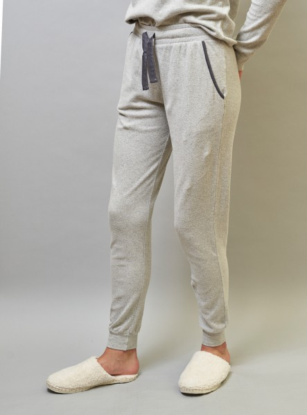 ALIZÉE LOUNGE PANTS : gris