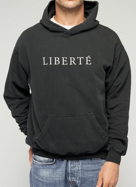 LIBERTÉ HOODIE - black